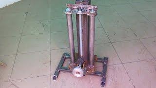 Homemade milling machine part 1
