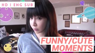 getlinkyoutube.com-PARK BOM - FUNNY & CUTE MOMENTS  (ROOMMATE) HD|ENG SUB