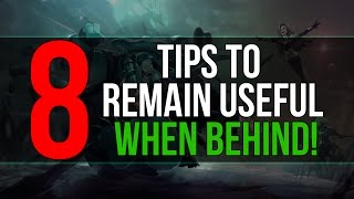 8 Tips To Remain Useful When Behind