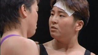 getlinkyoutube.com-Yumiko Hotta (AJW) vs Shinobu Kandori (LLPW)