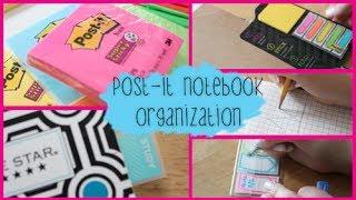 getlinkyoutube.com-Back to School Notebook Organization ft. Post-it