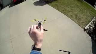 getlinkyoutube.com-Nano QX on PFG 110mm frame with Micro Motor 'fast' motors