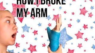 getlinkyoutube.com-How I Broke My Arm // HeyItsAnna