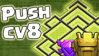 getlinkyoutube.com-Layout de Push para CV8 FULL - Clash of Clans