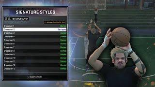 getlinkyoutube.com-NBA 2K16 My SECRET Dribble Move Combos & Signature Styles!! | MyPark & Stage!