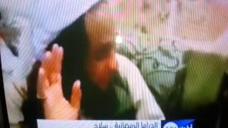 تهديد ناصر القصبي في تقرير قناة الان
