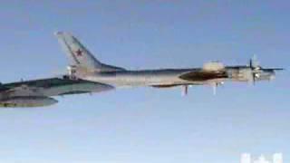 getlinkyoutube.com-Canadian Jet Intercepts Russian Bomber