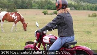 getlinkyoutube.com-MotoUSA 2010 Royal Enfield Bullet Classic C5 Review