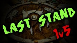 getlinkyoutube.com-LAST STAND: 1v5 Resto Druid Survival PvP