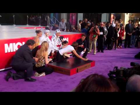 Michael Jackson  Grauman's Chinese Theatre ceremony