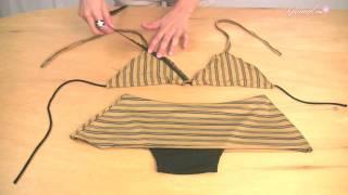 getlinkyoutube.com-How to Make A Basic Triangle Top with skirted bottom