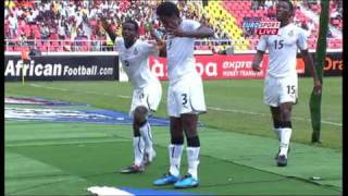 getlinkyoutube.com-Asamoah Gyan Dance - Ghana vs Nigeria