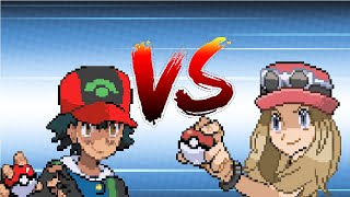 getlinkyoutube.com-Pokemon Ash vs Serena