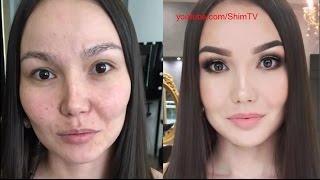 getlinkyoutube.com-Чудеса макияжа, ужас - до и после макияжа!!! #2