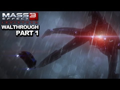 Mass Effect 3: Leviathan DLC Walkthrough  Accessing the DLC and Getting Started - Part 1