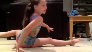 getlinkyoutube.com-seven gymnastics girls audition.