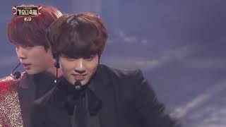 BTS - FIRE [2016 KBS Song Festival / 2017.01.01]