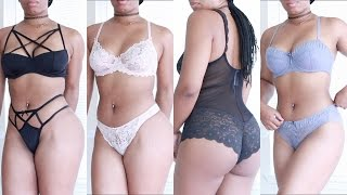 getlinkyoutube.com-SEXY LINGERIE ADORE ME TRY ON HAUL: 18+ ONLY! | BeautybyGenecia