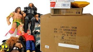 getlinkyoutube.com-WWE CUSTOM ELITES!! Bad Decision eBay Edition BOXPOCALYPSE Toy Haul Unboxing!!