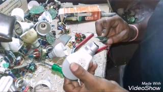LED BULB REPAIR IN HINDI