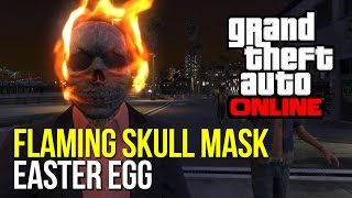 GTA 5: FLAMING SKULL MASK EASTER EGG!