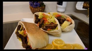 getlinkyoutube.com-IRAQI FOOD OM ZEIN  كص لحم  بقر , اكلات عراقيه ام زين