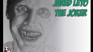 getlinkyoutube.com-How to Draw The Joker as Jared Leto | Desenhando O Curinga de Jared Leto (Speed Draw #04)