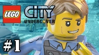 getlinkyoutube.com-LEGO City Undercover - Part 1 -  Chase McCain (WII U Exclusive ) (HD Gameplay Walkthrough)