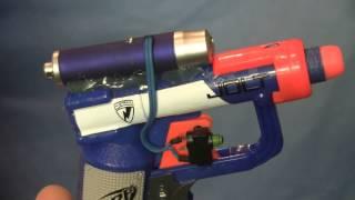 getlinkyoutube.com-Nerf Jolt Laser mod: Automatic Laser on/off