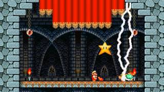 getlinkyoutube.com-Super Mario Bros. X (SMBX) Custom Level - Unforgiving Fortress