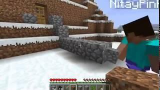 """getlinkyoutube.com-Minecraft em dupla (episodio 1) """"Primeira Noite"""""""