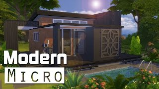 The Sims 4 | House Building - Modern Micro (6x6)