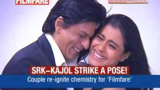 getlinkyoutube.com-SRK - Kajol PhotoShoot For Filmfare 2010