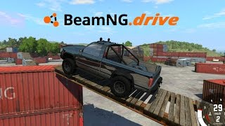 getlinkyoutube.com-BeamNG drive | No todo es choques y accidentes