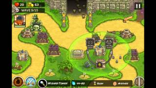 getlinkyoutube.com-Kingdom Rush Frontiers -  Temple of Saqra 3 Stars E11