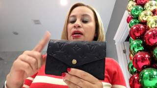 getlinkyoutube.com-Louis Vuitton compact cruisuie wallet review!