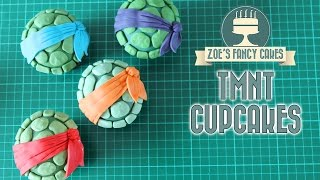 getlinkyoutube.com-Teenage Mutant Ninja Turtles cupcakes : TMNT cakes