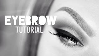 getlinkyoutube.com-Glam Basics: Eyebrow tutorial (for dark to invisible brows)