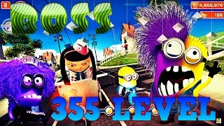 getlinkyoutube.com-Despicable Me 2: Minion Rush 355 Level Residental Area MAP BOSS LEVEL, Vampire Skin Evil Minion