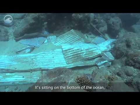 Our Debris Filling the Sea via usoceangov