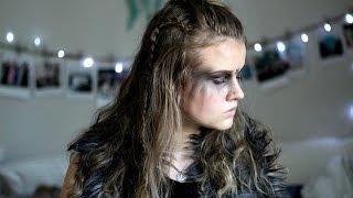 getlinkyoutube.com-Halloween Makeup Tutorial   Warrior/Commander Lexa