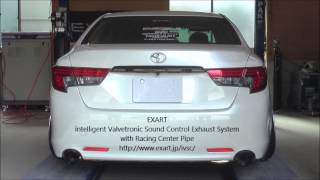 getlinkyoutube.com-EXART iVSC Exhaust System - TOYOTA MARK X