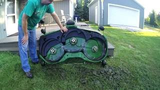 getlinkyoutube.com-Deere 54D/60D Make Your Mower Great Again