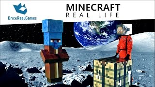 getlinkyoutube.com-Moon Mission: Minecraft Real Life