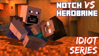 getlinkyoutube.com-Notch The King of MCSM vs Herobrine, Idiot Series - Minecraft Story Mode Episode 6