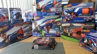 getlinkyoutube.com-Unboxing a Package from Nerf (Pick the Next Review!) (Winter 2012/2013 Line)