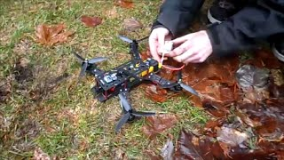 getlinkyoutube.com-Storm FPV Racing Drone- Flight Review (Crashes and flips as well)