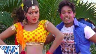 getlinkyoutube.com-वॉटर प्रूफ लहंगा - Rang Hariyarka | Pushpa Rana | Bhojpuri Holi Song 2016