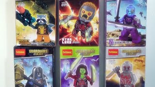 getlinkyoutube.com-Decool 가디언즈 오브 더 갤럭시 Guardians of the Galaxy 레고 짝퉁 피규어