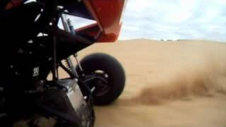 getlinkyoutube.com-turbo busa sandrail Sinister Sand Sports rail